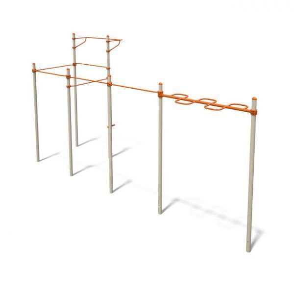 InterAtletika S831.3 Workout complex (with pull-up and monkey bars)
